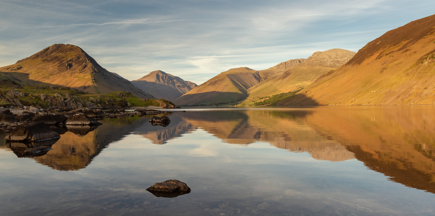 Scafell Pike and Wastwater - Britain's Favourite View